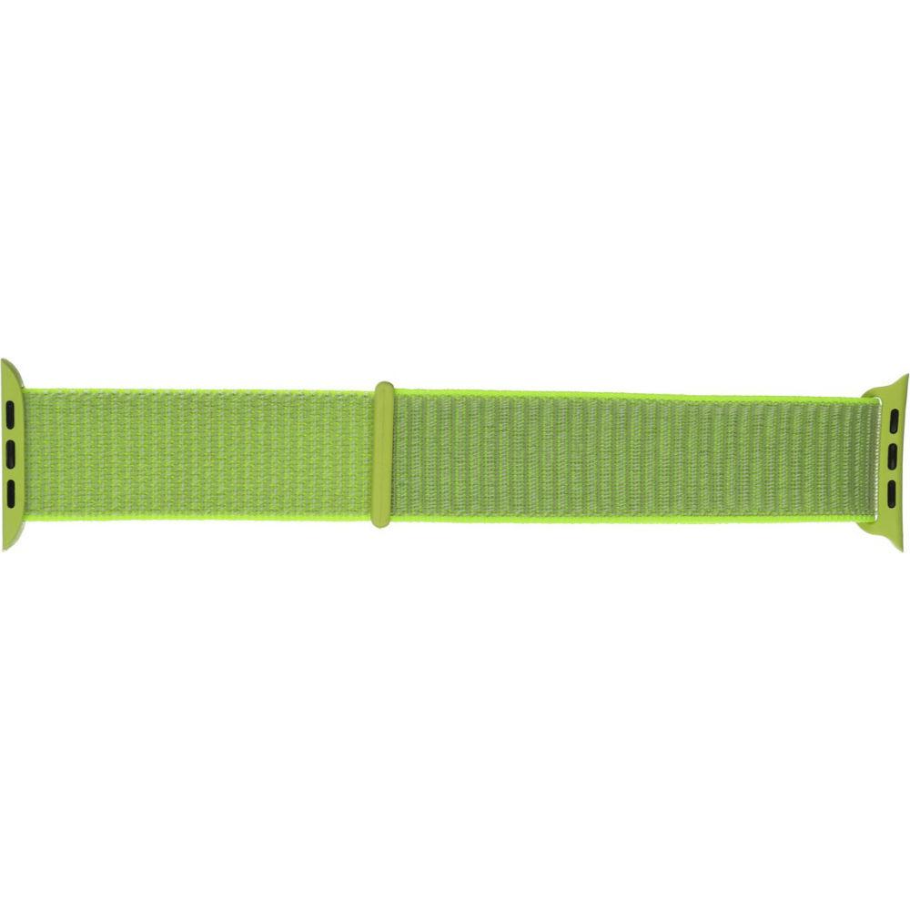 Ремешок Armorstandart Nylon Band для Apple Watch 38mm/40mm Light Green (ARM57849) Совместимость Apple Watch