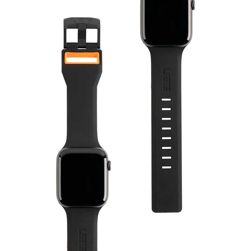 Ремешок UAG Apple Watch 44/42 Civilian Black/Orange (19148D114097) Совместимость Apple Watch 44 мм