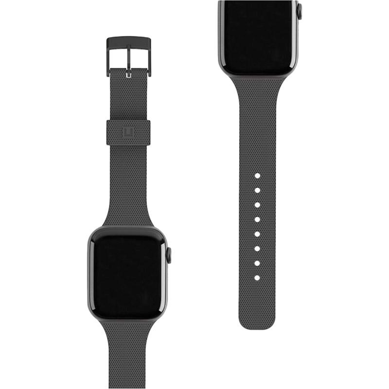 Ремінець UAG Dot Silicone для Apple Watch 40/38 Black (19248K314040)