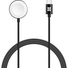 Кабель для зарядки PROMATE USB-C для Apple Watch auracord-c.black