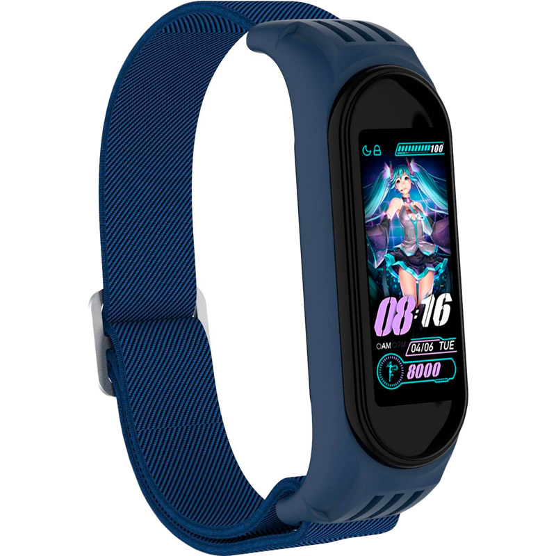 Ремінець XOKO для Xiaomi Mi Smart Band 4/5/6 Blue (XK-NLN6-BL)