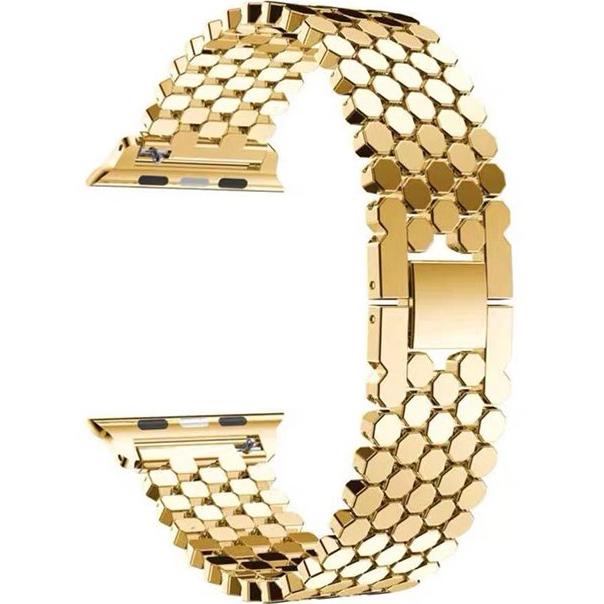 Браслет XoKo Metal Jewelry для Apple Watch 38-40mm Gold (XK-DM-JWGD) Совместимость Apple Watch 38 мм