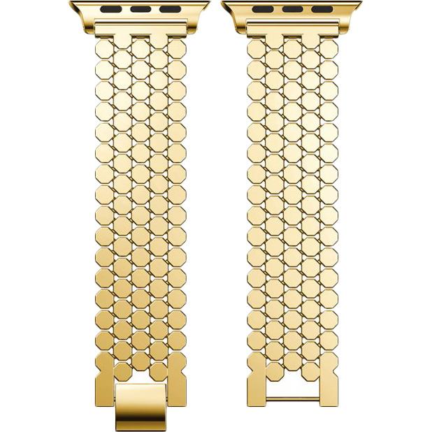 Браслет XoKo Metal Jewelry для Apple Watch 38-40mm Gold (XK-DM-JWGD) Тип браслет