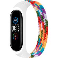 Ремешок BeCover Elastic Nylon Style для Xiaomi Mi Smart Band 5/6 Size S Rainbow (706143)