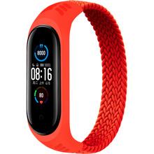 Ремінець BeCover Elastic Nylon Style для Xiaomi Mi Smart Band 5/6 Size S Red (706144)