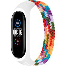 Ремешок BeCover Elastic Nylon Style для Xiaomi Mi Smart Band 5/6 Size M Rainbow (706154)