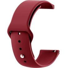 Ремінець BECOVER Samsung Galaxy Watch 42mm / Gear Sport Dark-Red (706169)