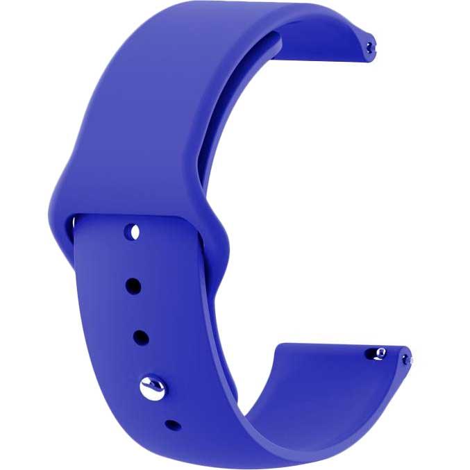 Ремінець BECOVER Samsung Galaxy Watch 42mm / Gear Sport Dark-Blue (706174)