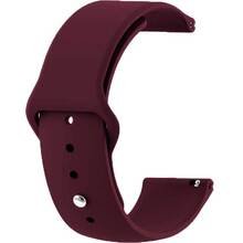 Ремешок BECOVER Samsung Galaxy Watch 42mm/Gear Sport Purple-Wine (706178)