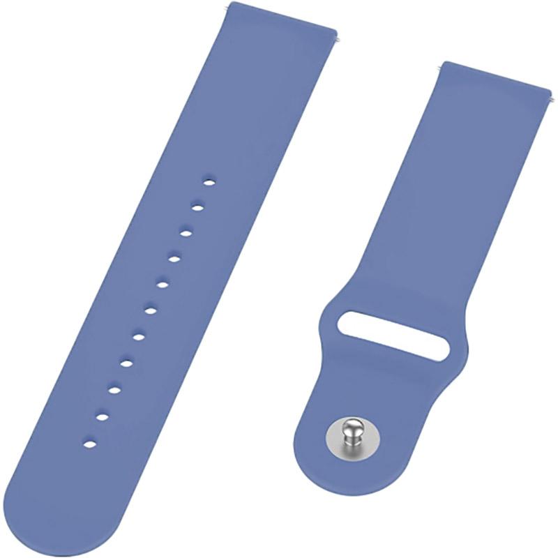 Ремінець BECOVER для Xiaomi iMi KW66 / Mi Watch Color / Haylou LS01 Lilac (706352) Тип ремінець