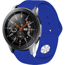 Ремешок BECOVER для Xiaomi iMi KW66/Mi Watch Color/Haylou LS01 Dark Blue (706354)