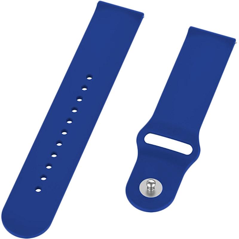 Ремешок BECOVER для Xiaomi iMi KW66/Mi Watch Color/Haylou LS01 Dark Blue (706354) Тип ремешок