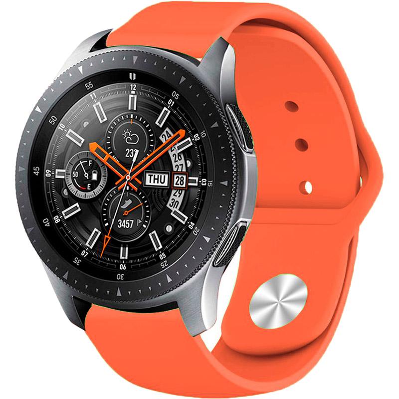 Ремешок BECOVER для Xiaomi iMi KW66/Mi Watch Color/Haylou LS01 Apricot (706355) Материал силикон