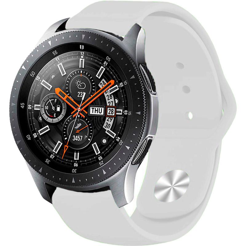 Ремінець BECOVER для Xiaomi iMi KW66 / Mi Watch Color / Haylou LS01 White (706357) Матеріал силікон