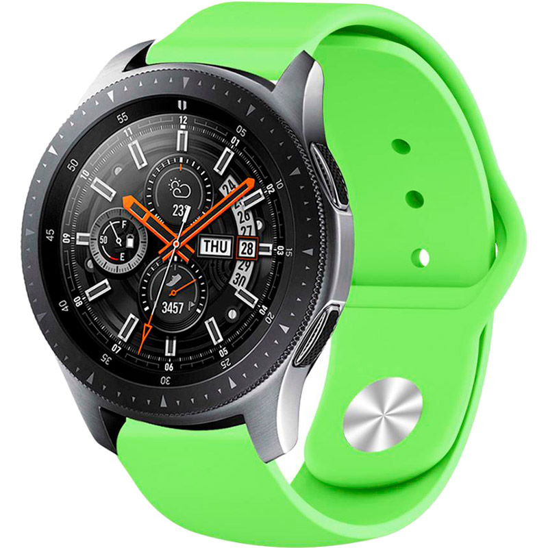 Ремінець BECOVER для Xiaomi iMi KW66 / Mi Watch Color / Haylou LS01 Lime (706363) Сумісність Xiaomi Mi Watch