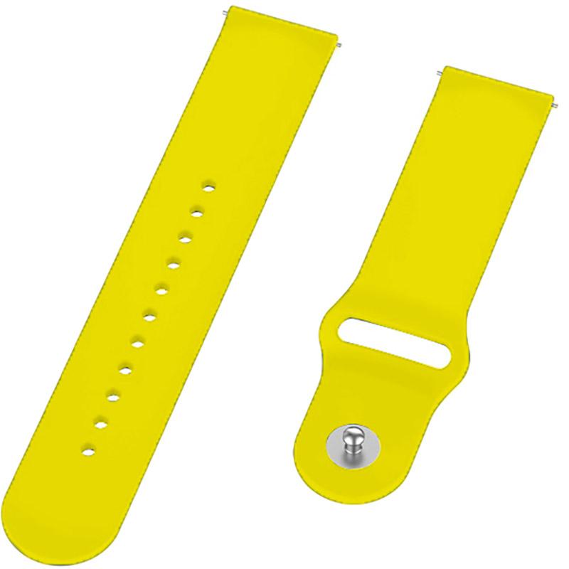 Ремінець BECOVER для Huawei Watch GT 2 42 mm Yellow (706241) Сумісність Huawei Watch GT 2