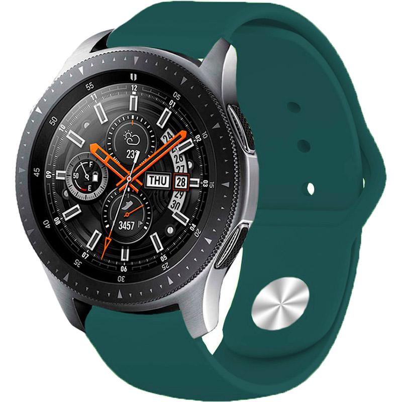 Ремінець BECOVER для Xiaomi iMi KW66 / Mi Watch Color / Haylou LS01 Dark Green (706366) Сумісність Xiaomi Mi Watch