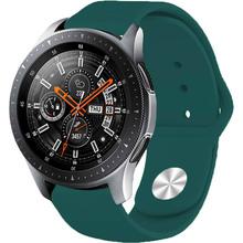 Ремінець BECOVER для Xiaomi iMi KW66 / Mi Watch Color / Haylou LS01 Dark Green (706366)