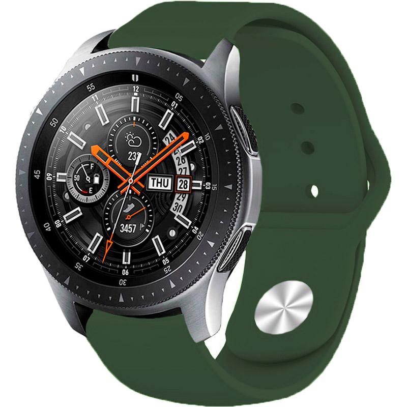 Ремешок BECOVER для Xiaomi iMi KW66/Mi Watch Color/Haylou LS01 Green (706367) Материал силикон