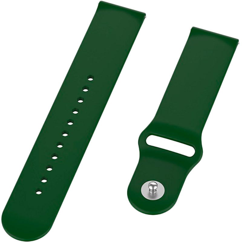 Ремешок BECOVER для Xiaomi iMi KW66/Mi Watch Color/Haylou LS01 Green (706367) Тип ремешок