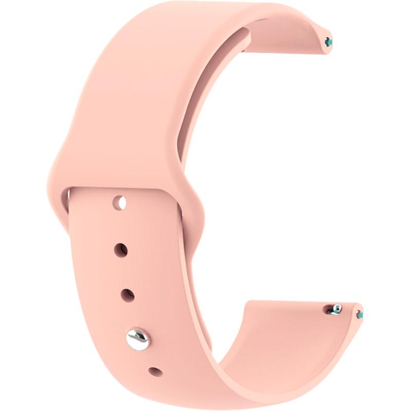 Ремешок BECOVER для Amazfit Stratos/Stratos 2/2S/3/Amazfit Pace Grapefruit Pink (706371)