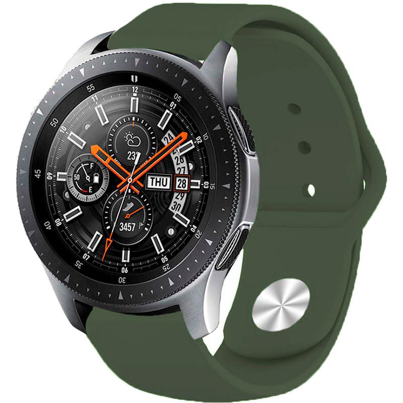Фото 3 Ремінець BECOVER для Huawei Watch GT 2 42 mm Khaki (706244)