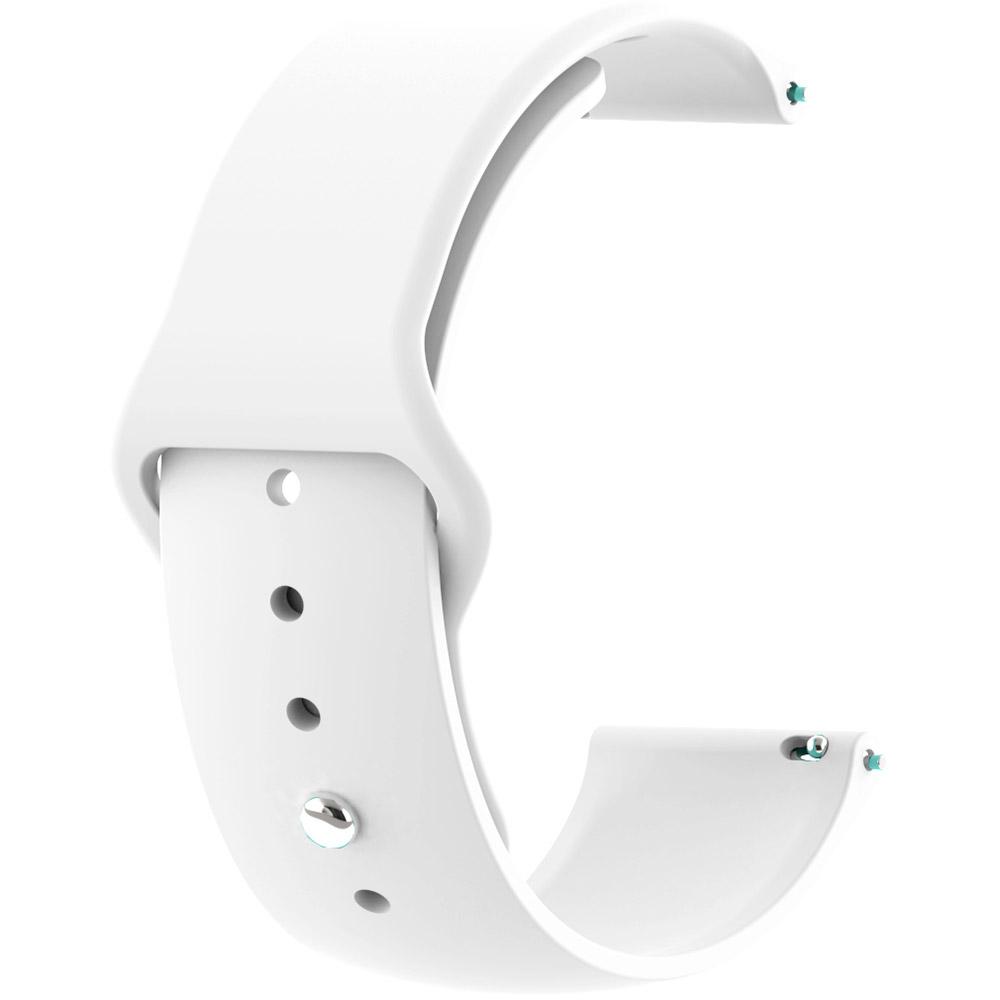 Ремінець BECOVER для Samsung Galaxy Watch 46mm / Gear S3 Classic White (706317)