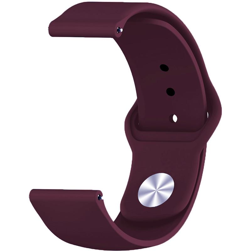 Ремінець BECOVER для Motorola Moto 360 2nd Gen. Men's Purple-Wine (706258) Тип ремінець