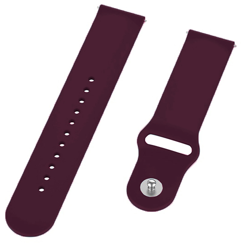 Ремінець BECOVER для Motorola Moto 360 2nd Gen. Men's Purple-Wine (706258) Сумісність Motorola Moto 360 2nd Gen