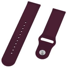 Ремінець BECOVER для Motorola Moto 360 2nd Gen. Men's Purple-Wine (706258)