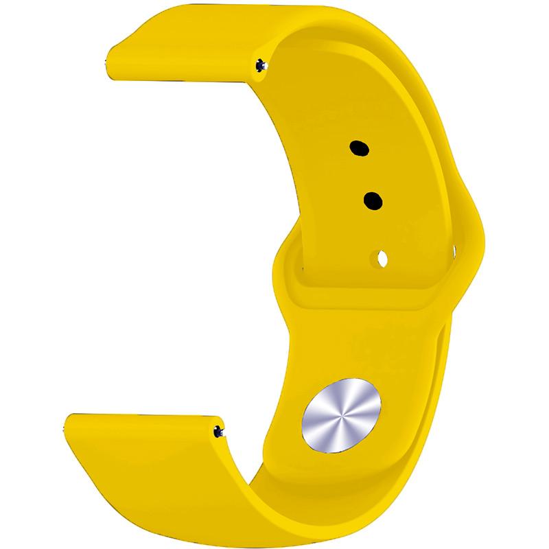 Ремешок BECOVER для Motorola Moto 360 2nd Gen. Men's Yellow (706261) Тип ремешок