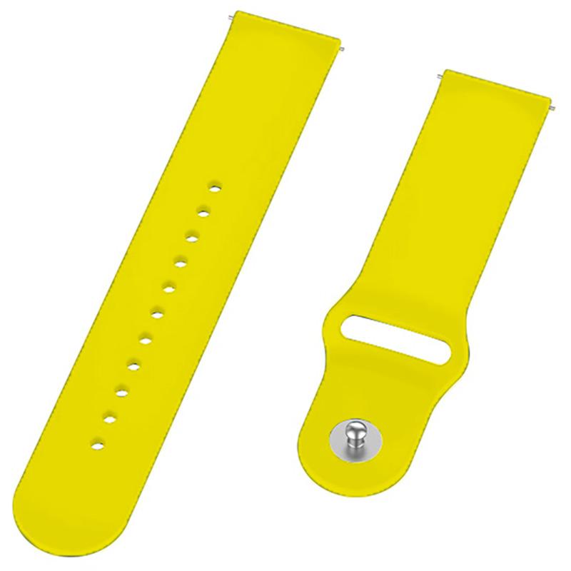 Ремешок BECOVER для Motorola Moto 360 2nd Gen. Men's Yellow (706261) Совместимость Motorola Moto 360 2nd Gen