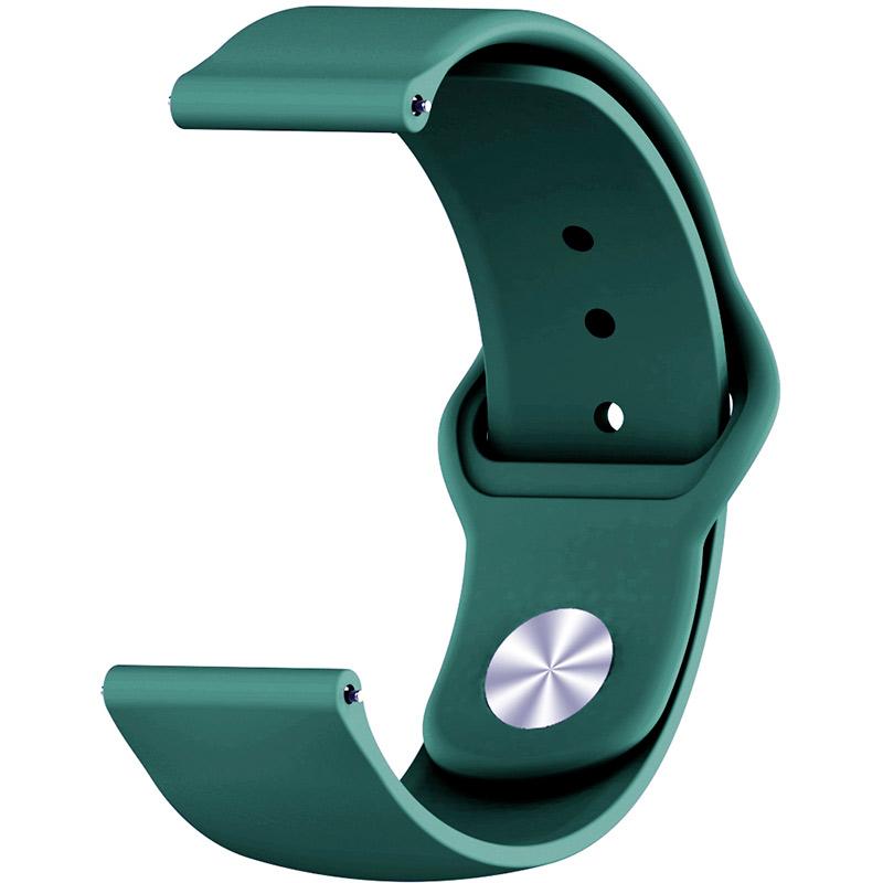 Ремінець BECOVER для Motorola Moto 360 2nd Gen. Men's Dark-Green (706266) Тип ремінець
