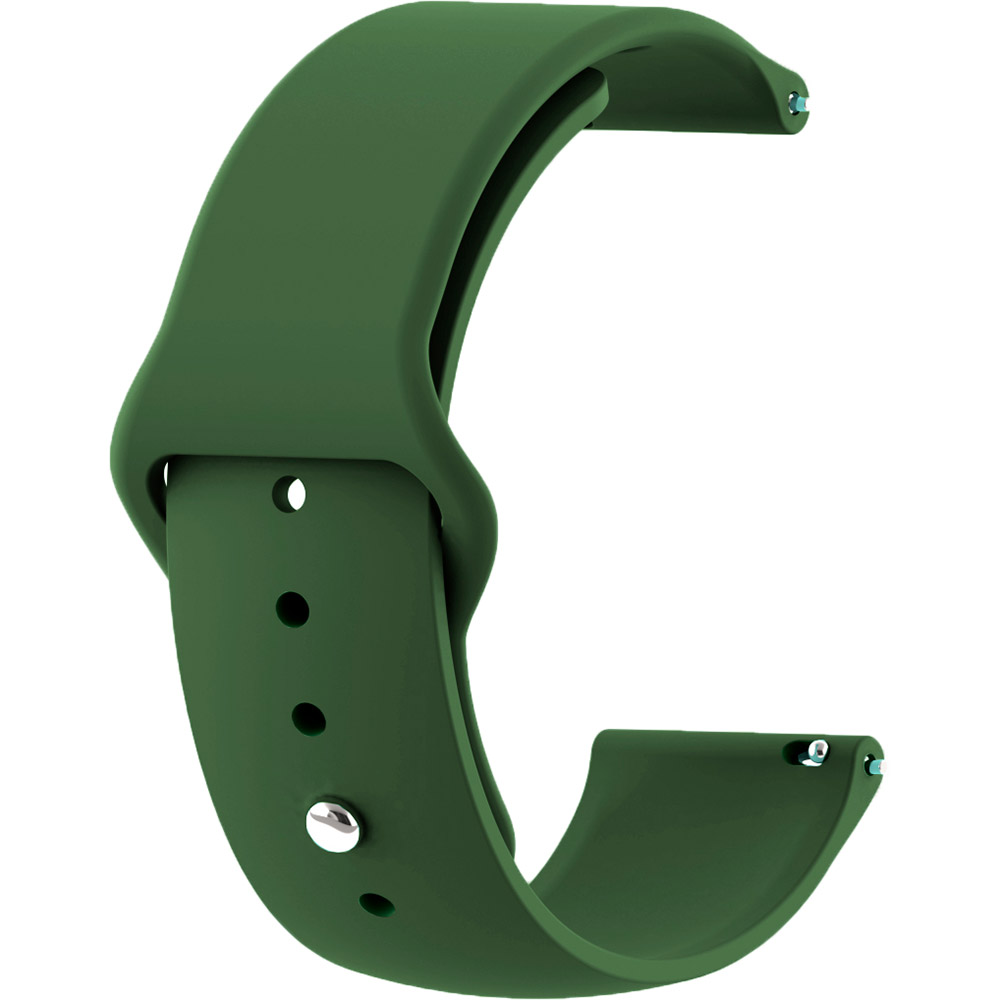 Ремешок BECOVER для Samsung Galaxy Watch 46mm/Gear S3 Classic Green (706327)
