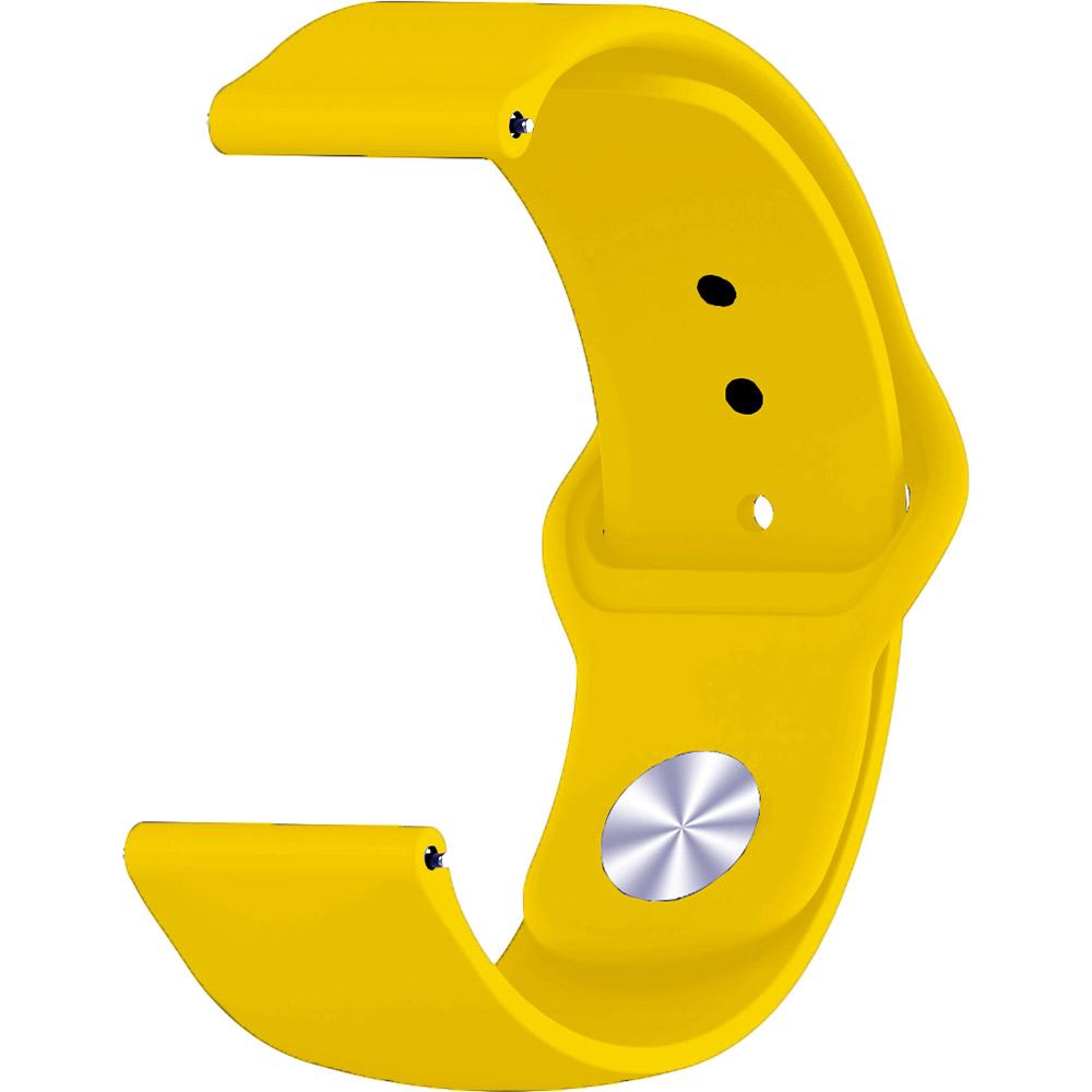 Ремешок BECOVER Huawei Watch GT/Honor Watch Magic Yellow (706341) Тип ремешок
