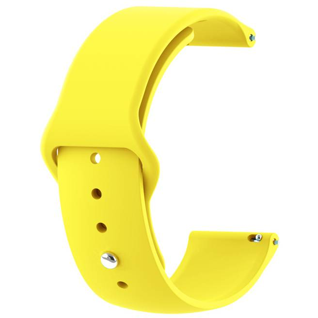 Ремінець BECOVER Samsung Galaxy Watch 42mm / Gear Sport Yellow (706181)