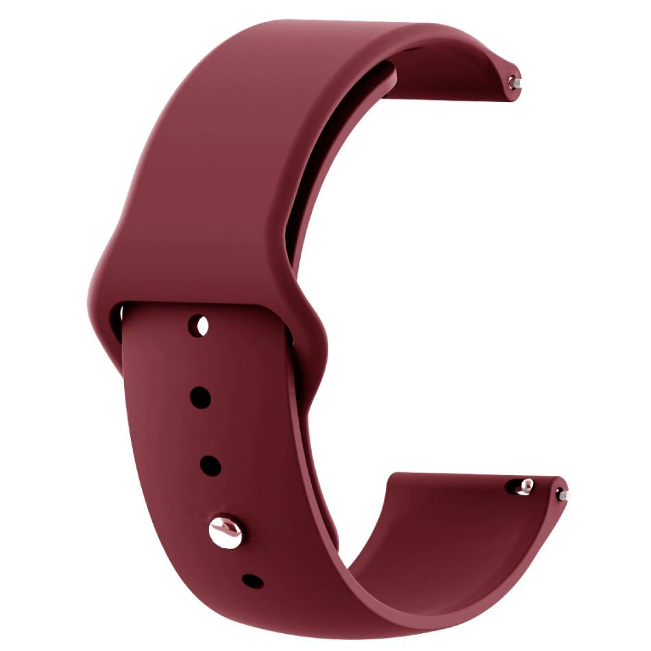 Ремінець BECOVER LG Watch Sport W280A Dark-Red (706209)