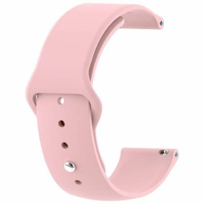 Ремінець BECOVER LG Watch Sport W280A Pink (706210)