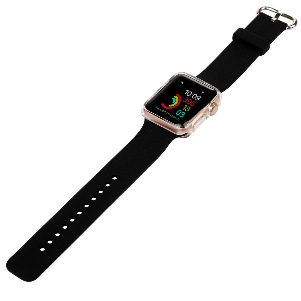 Ремешок BECOVER для Apple Watch Universal (38mm) IPH1446 Black (702358) Тип ремешок