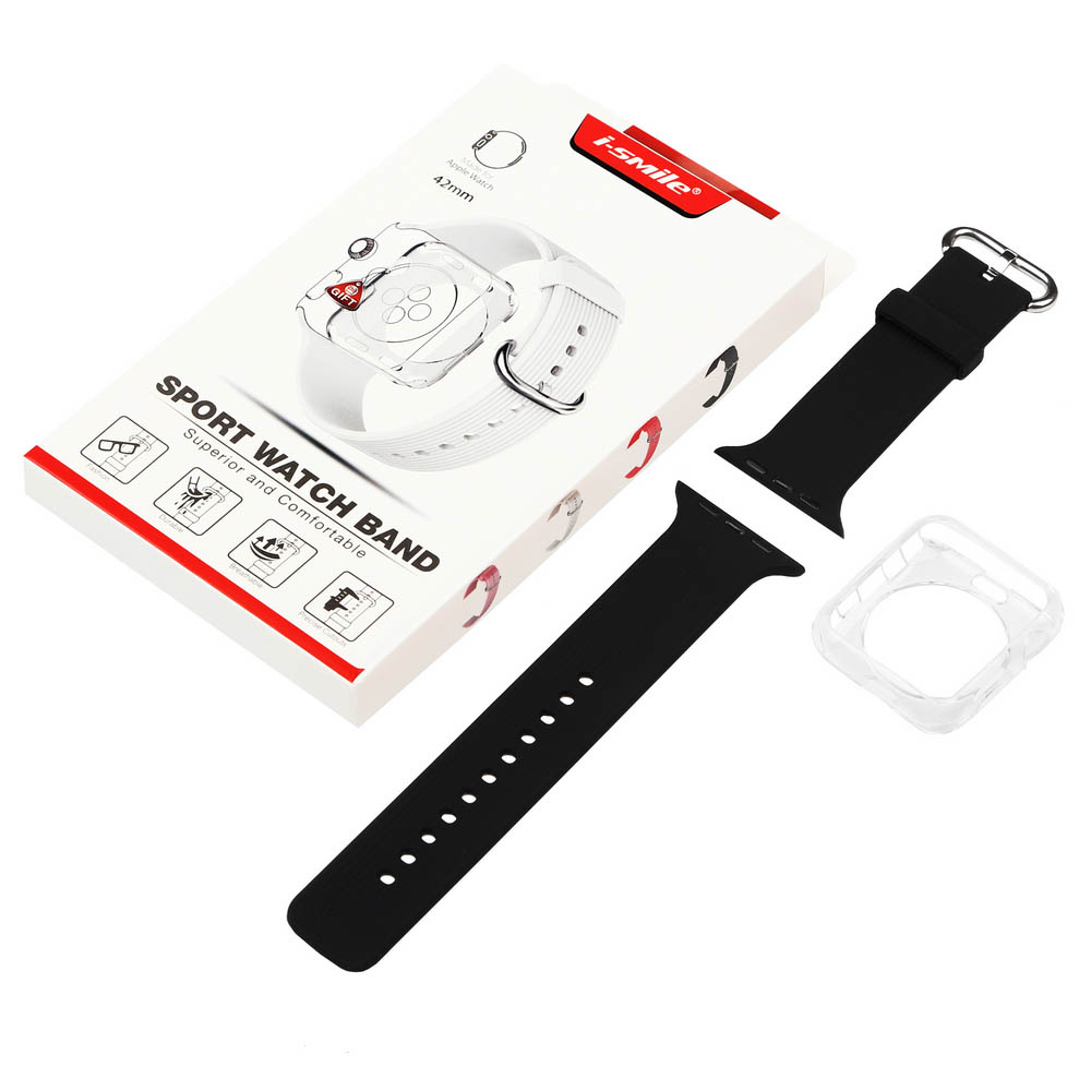 Ремешок BECOVER для Apple Watch Universal (38mm) IPH1446 Black (702358) Совместимость Apple Watch 38 мм