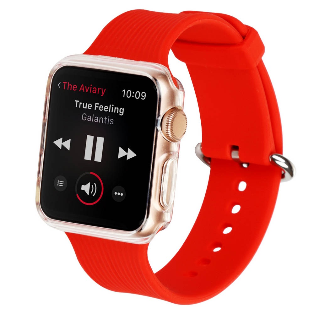 Ремінець BECOVER для Apple Watch Universal (38mm) IPH1446 Red (702359)