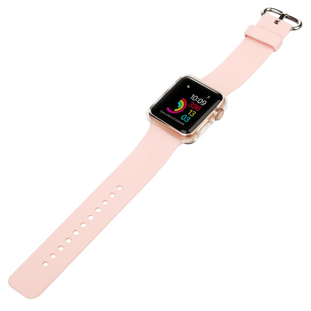 Ремінець BECOVER для Apple Watch Universal (38mm) IPH1446 Pink (702360) Тип ремінець