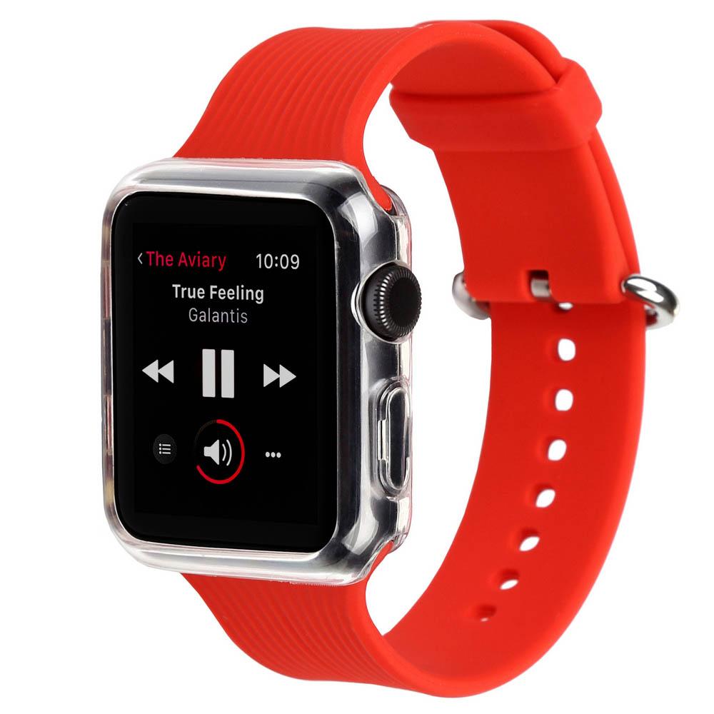 Ремінець BECOVER для Apple Watch Universal (42mm) IPH1446 Red (702417)