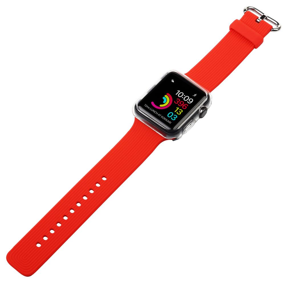 Ремінець BECOVER для Apple Watch Universal (42mm) IPH1446 Red (702417) Тип ремінець