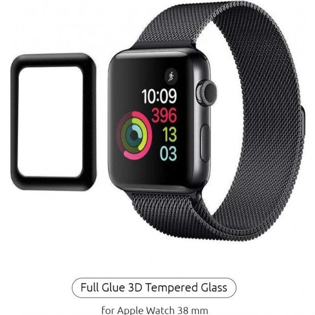 Захисне скло ARMORSTANDART Apple Watch Series 1/2/3 38mm Black (ARM52104)