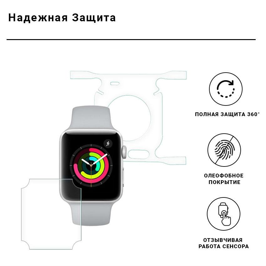 Защитная пленка ARMORSTANDART Apple Watch 40mm (ARM53467) Тип защитная пленка