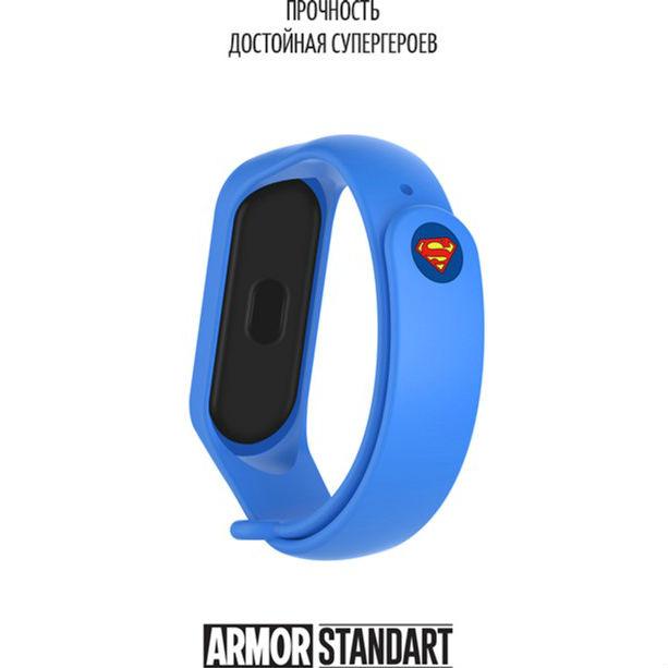Фото 2 Ремешок ARMORSTANDART Xiaomi Mi Band 4/3 Superman Blue (ARM55071)