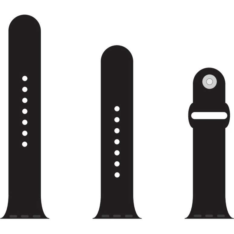 Ремешок Armorstandart Sport Band Apple Watch Black (ARM49096)