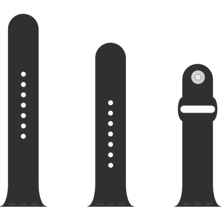 Ремешок Armorstandart Sport Band Apple Watch Dark Grey (ARM51941)