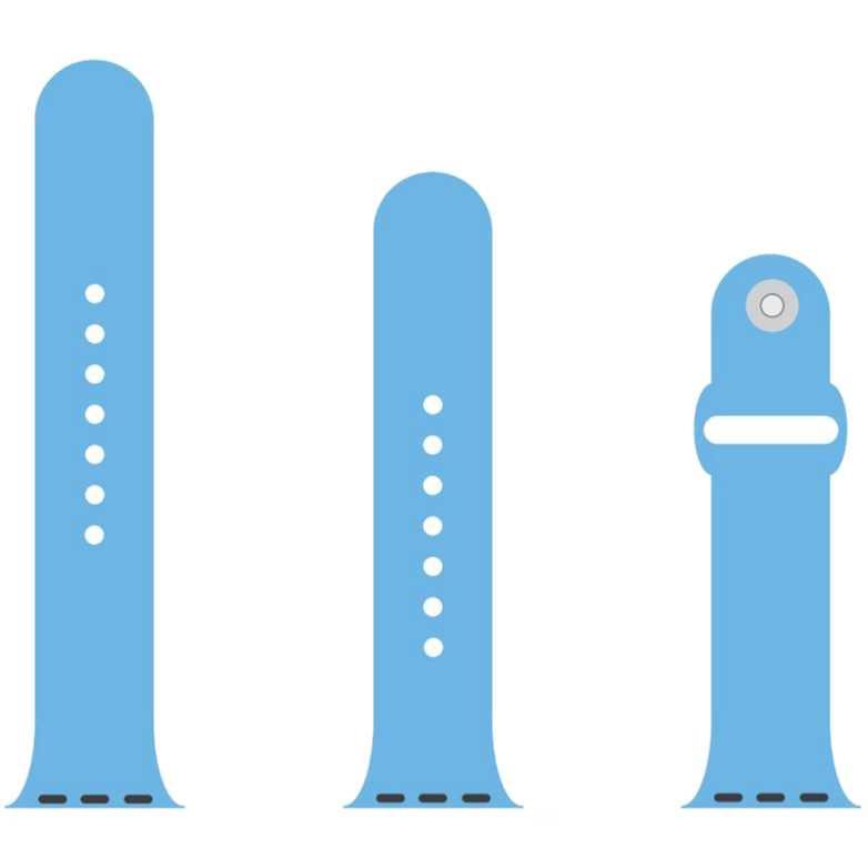 Ремінець ArmorStandart Sport Band Apple Watch 38-40 mm Light Blue (ARM51935)